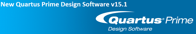New Altera Quartus Prime Design Software
