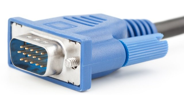 Male VGA connector