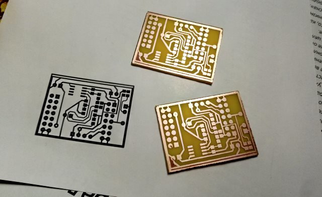 Марсоход3bis MIC shield pcb